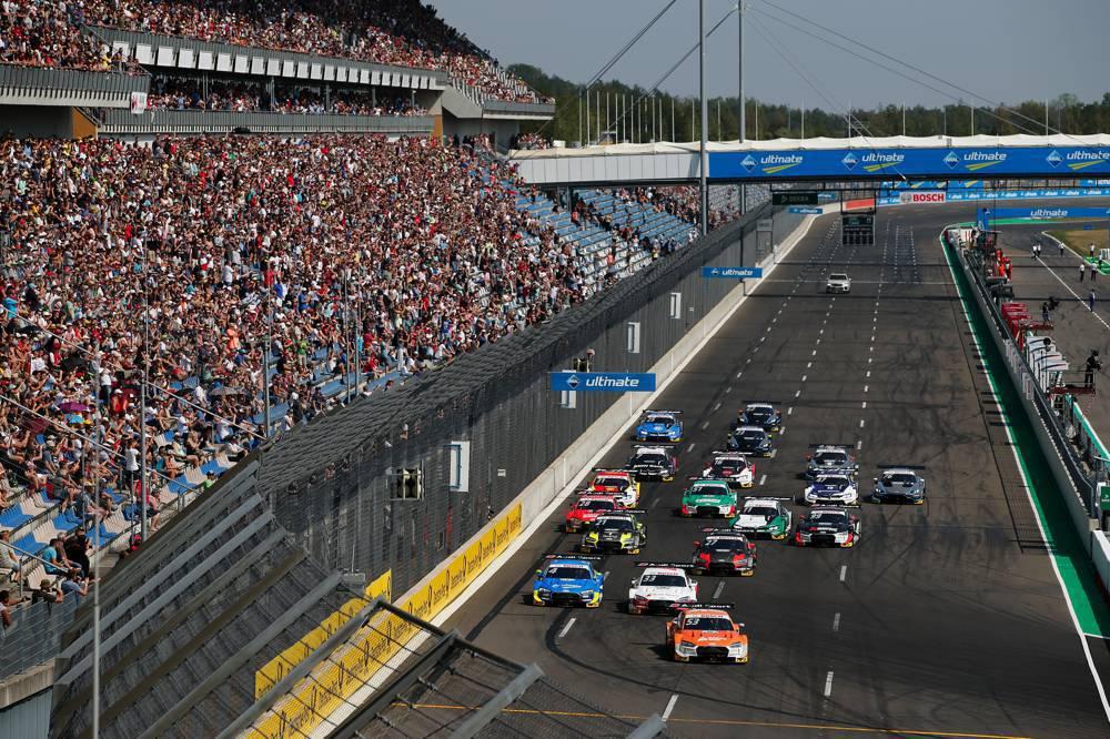 Start zum 500. Rennen der DTM