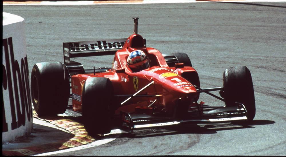 Michael Schumacher 1996 Sieg im Ferrari