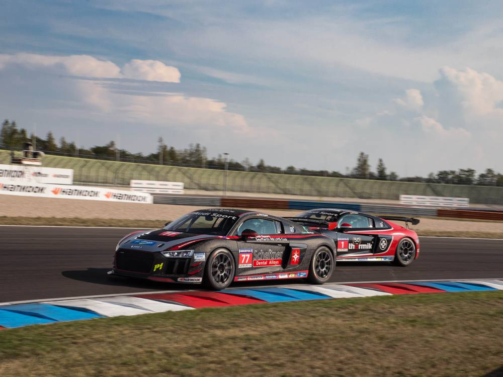 Premiere des Audi Sport Seyffarth R8 LMS Cup in Most