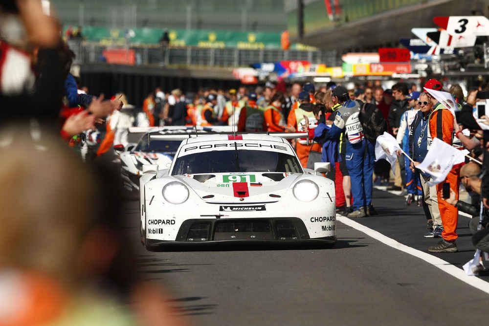 Porsche 911 RSR, Porsche GT Team (91), Gianmaria Bruni (I), Richard Lietz (A)