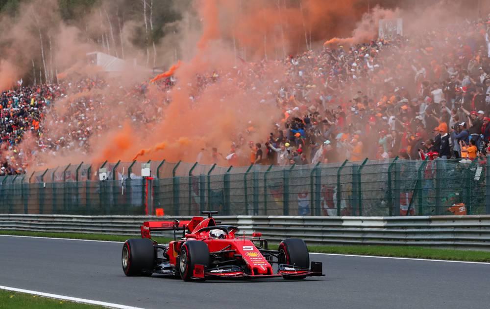 Vettel muss sich mit P4 in Belgien zufrieden geben