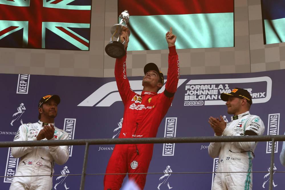 Doppelpodium für Mercedes beim F1 GP Belgien