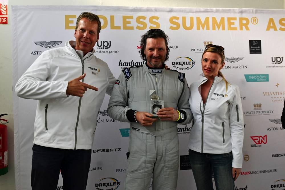 Markus Gedlich mit Racing Teilnehmer