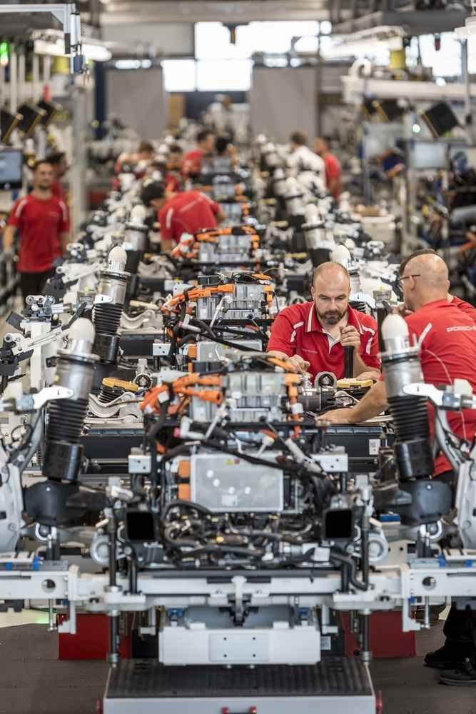 Die Porsche-Mitarbeiter sind integraler Teil des Projekts.