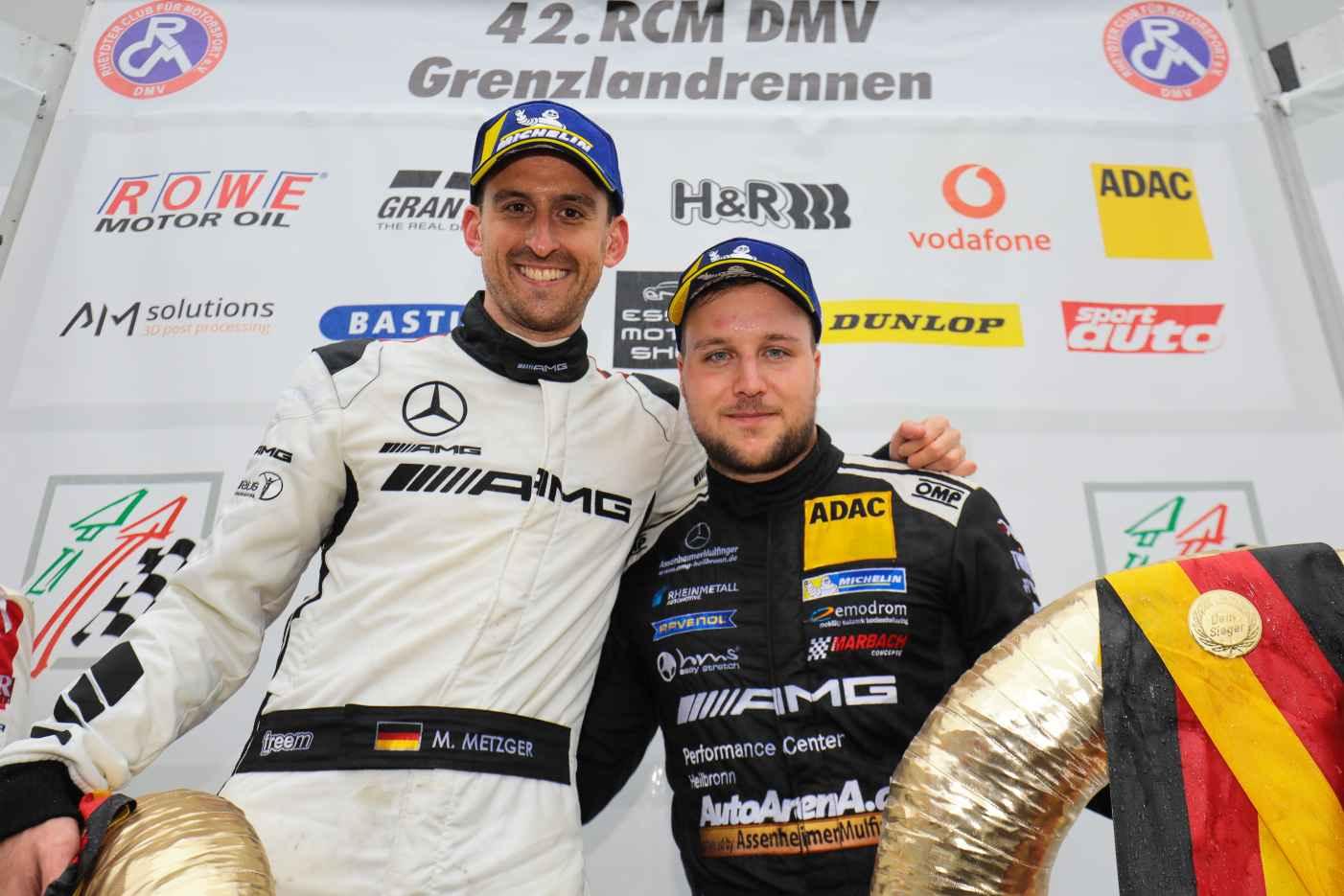 VLN-Sieg in Folge durch BLACK FALCON Team AutoArena Motorsport