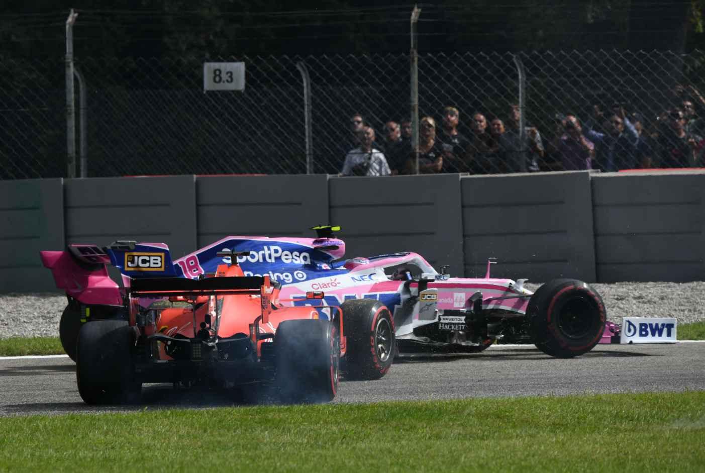 10 Sek Stop-Go Strafe für Vettel in Monza