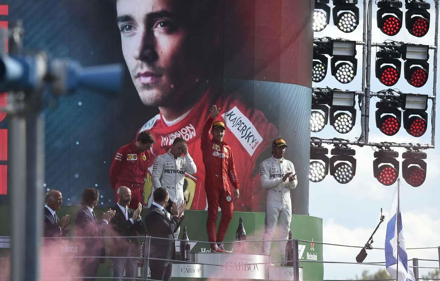 Leclerc gewinnt zum 2. Mal in der Formel 1