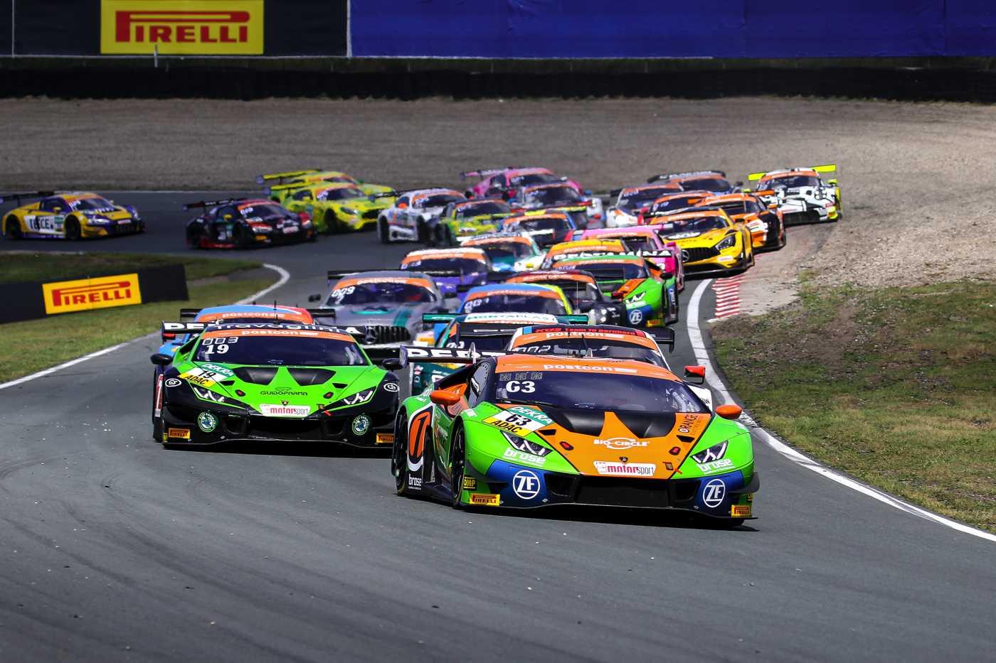 Orange1 by GRT Grasser führt in der Teamwertung