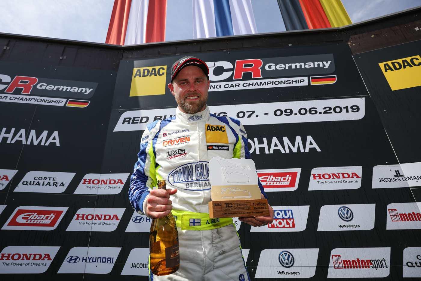 Antti Buri reist als Tabellenführer zum Hockenheimring