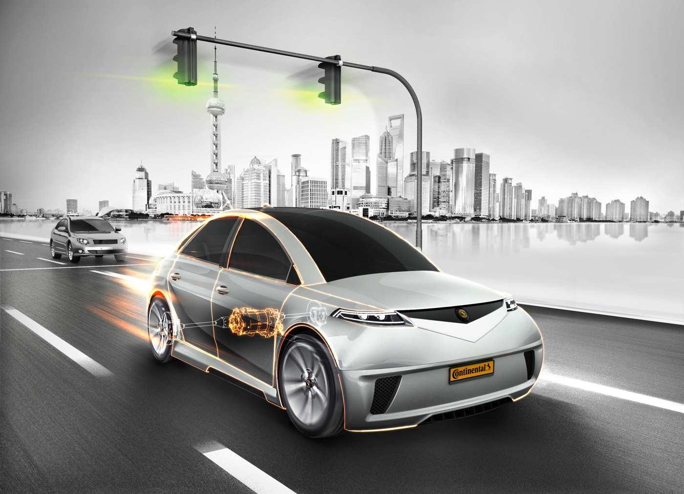 Elektrischer Achsantrieb von Continental