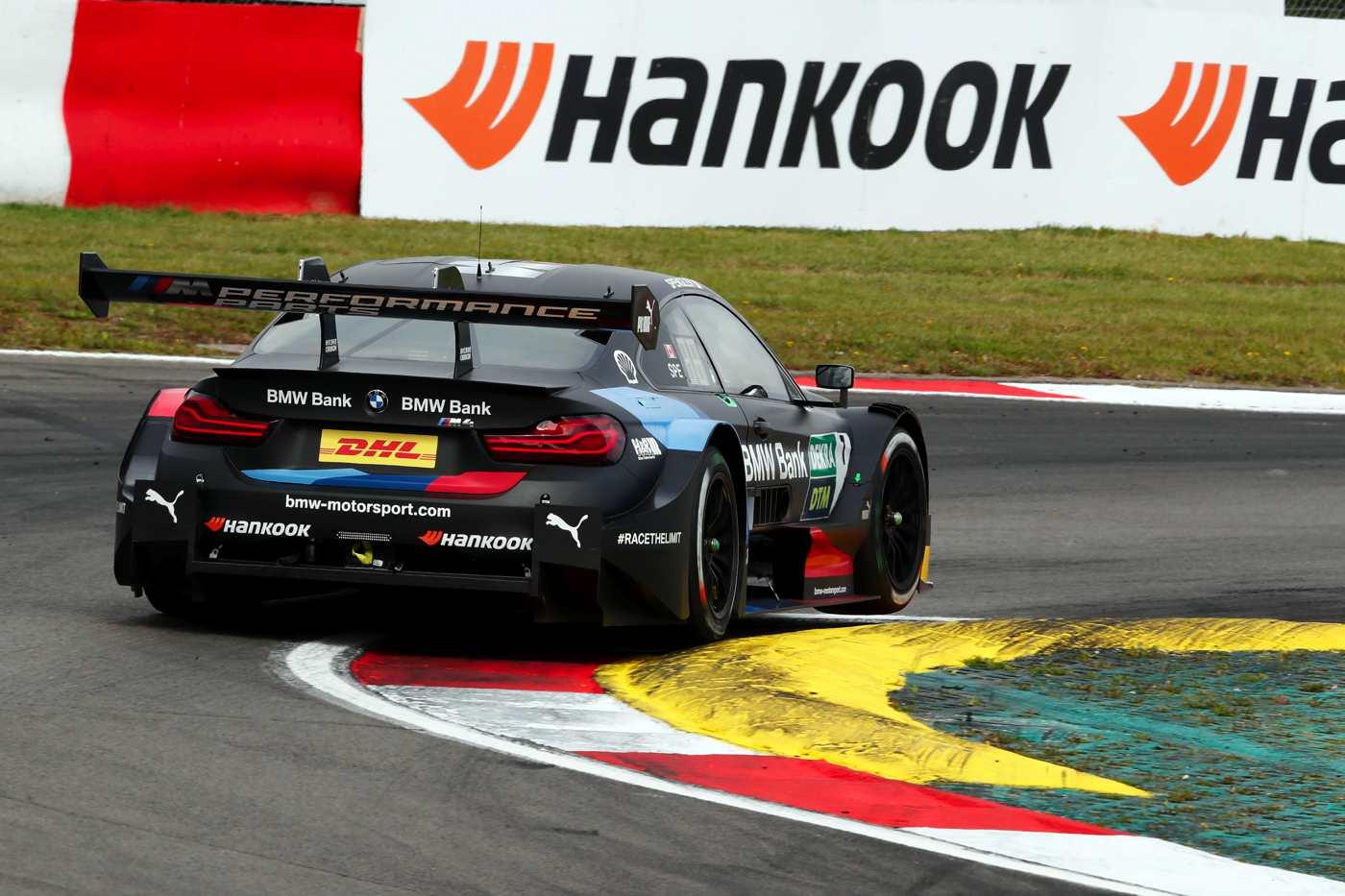 Bruno Spengler und Marco Wittmann für BMW auf dem Podium