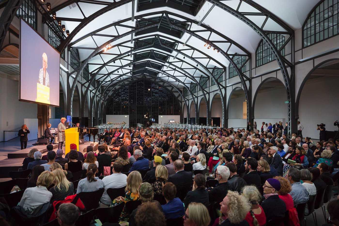 Die Verleihung des Preis der Nationalgalerie im Hamburger Bahnhof