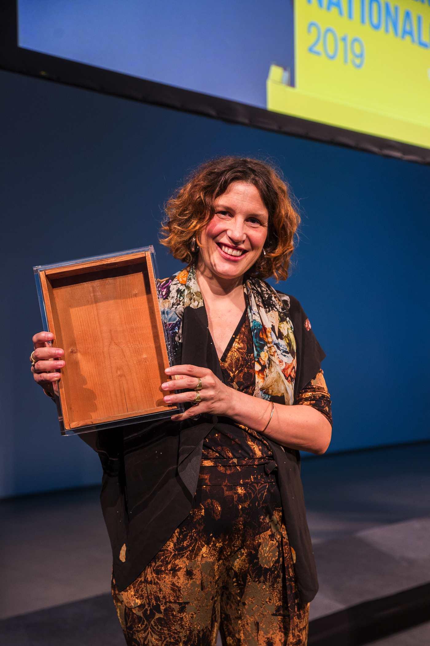 Pauline Curnier Jardin, Gewinnerin des Preis der Nationalgalerie 2019
