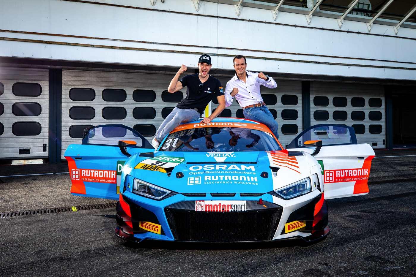 Die neuen Champions: Kelvin van der Linde und Patric Niederhauser