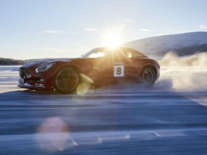 Mercedes-AMG startet Wintertrainings in Lappland