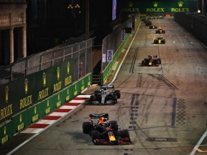 Formel 1 Live-Ticker GP Singapur: Red Bull F1 Favorit Max Verstappen auf P4 in Runde 10