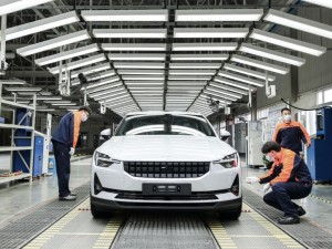 Polestar 2: Die Produktion beginnt in Luqiao, China