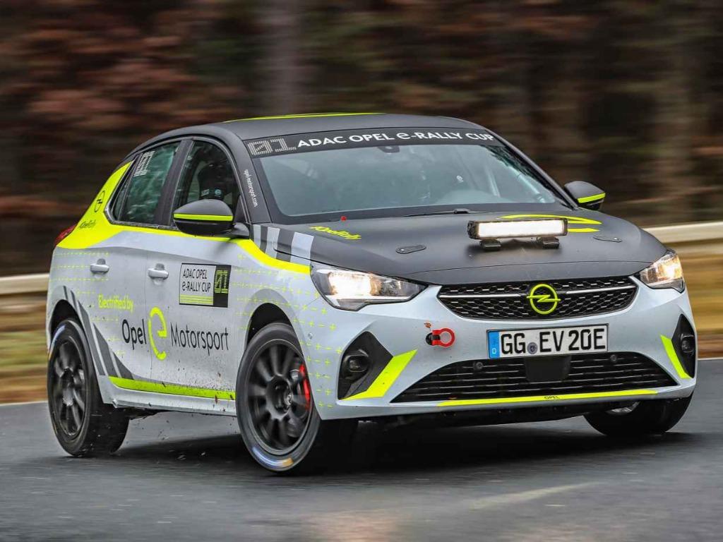 adac opel e-rally cup: die entwicklung läuft auf hochtouren
