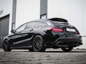 Perfekte Kombination – Project 3.0-Räder am AMG-Topsportler CLA 45