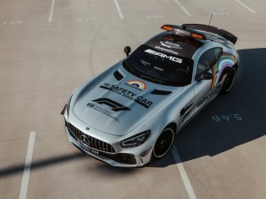 Formel 1: Mercedes-AMG GT R Official FIA F1 Safety Car im neuen Look