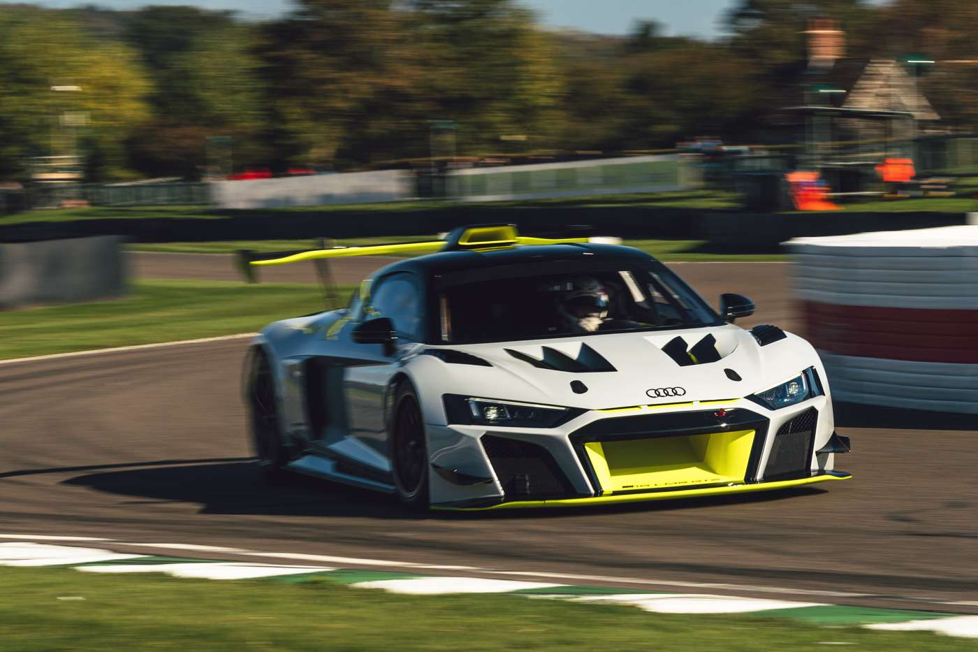 Goodwood SpeedWeek 2020 Audi R8 LMS GT2, Tom Kristensen