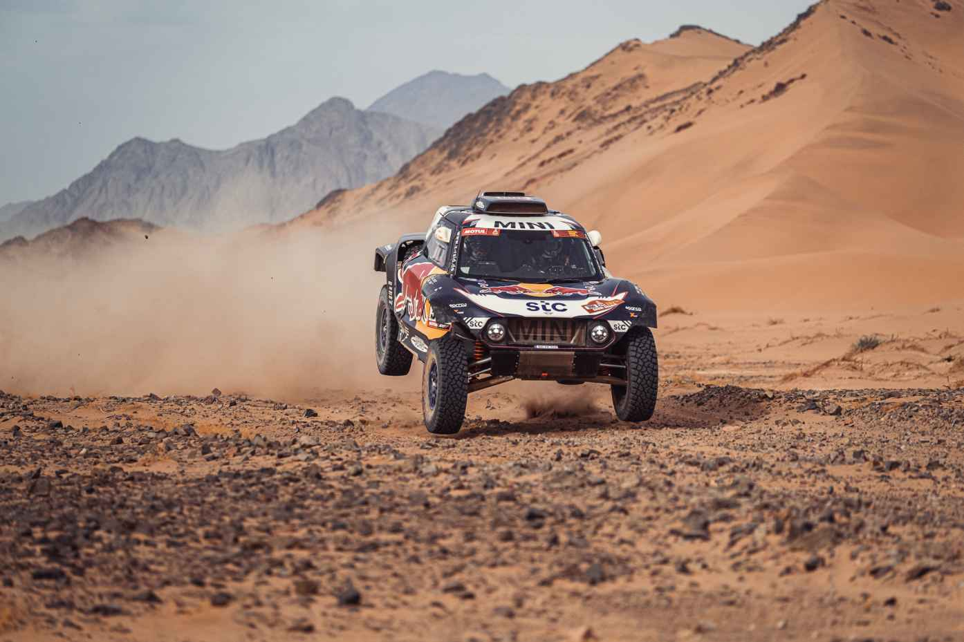 Home / 2021 / Dakar Rally / Stage 11 / #300 Sainz / Cruz / M21X6122