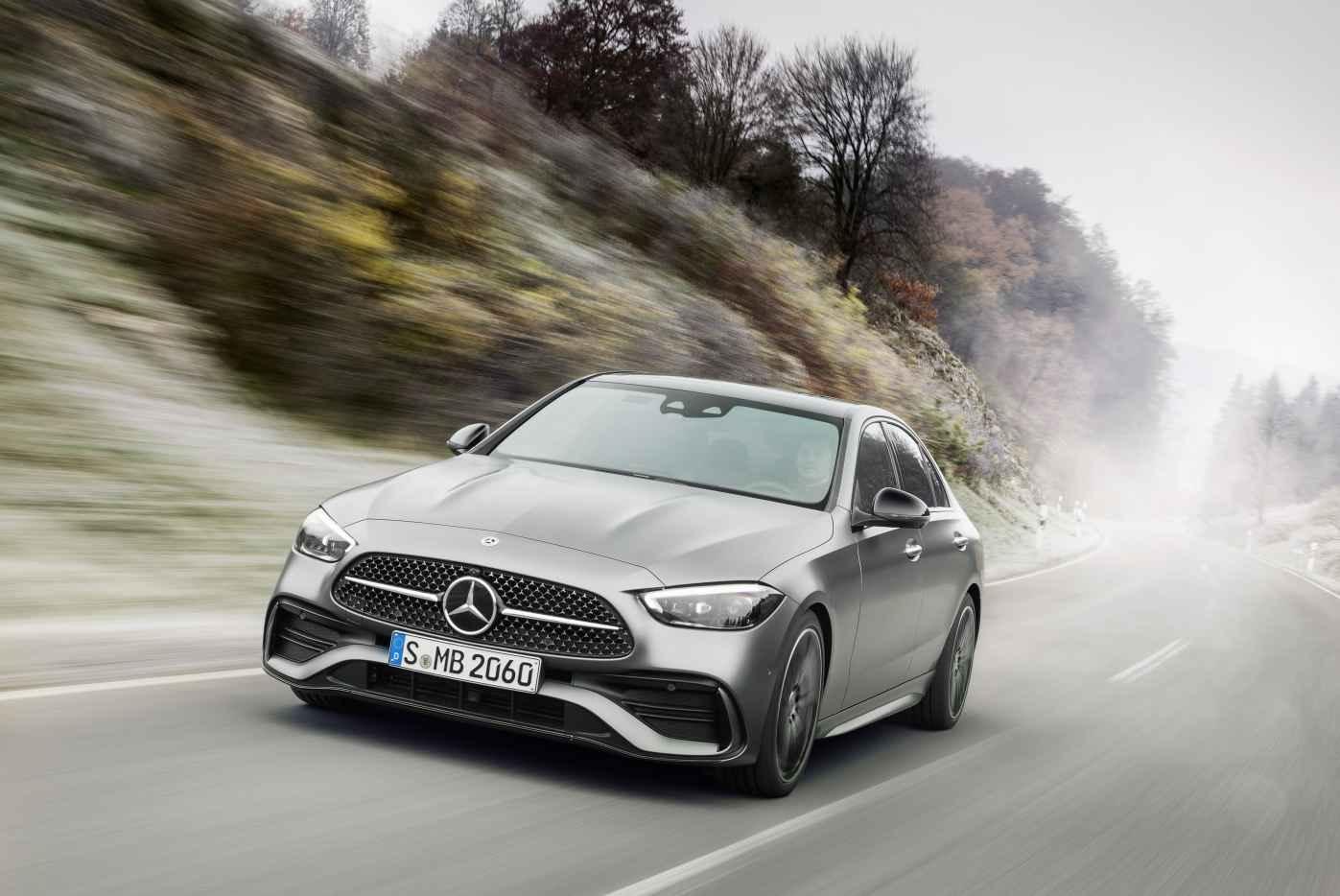 Neue Mercedes C-Klasse 2021: konsequente Elektrifizierung ...