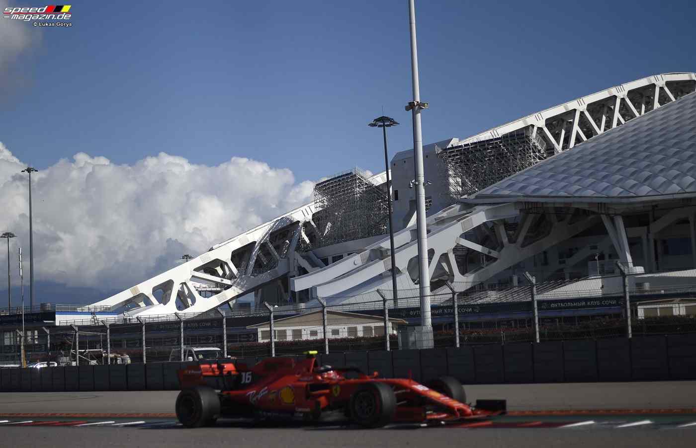 F1 Sotschi 2019